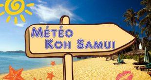 Quel météo à Koh Samui Thaïlande ?