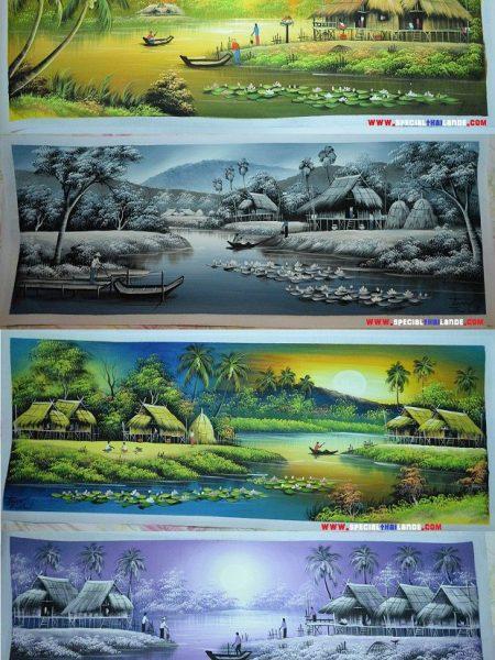 Acheter peinture Thaïlande (fait mains)