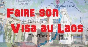 Obtenir son Visa Touristique thaï à Vientiane (au Laos)