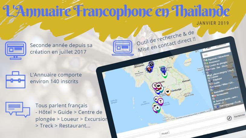 Annuaire Francophone en Thaïlande